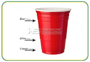 American Red Party Cups Manufacturer and Wholesaler