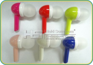 High Quality Fashion Candy Color Earphone Comply with CE & Rhos Professional Manufacturer