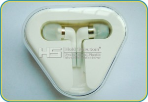 High quality Heart Shape Earphone and Earbuds Box for Iphone 5S