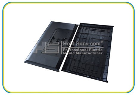 Household Appliances Cheap TV Shell Mould and TV Cover Molding Plastic Parts Manufacturer and Supplier
