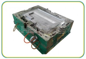 Plastic Injection Mold for the TV Set Back Shell