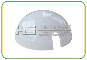 plastic part-High-PP gloss transparent surface cover-(HS-165)