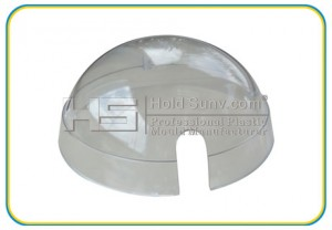 plastic part-High-gloss transparent surface cover-(HS-164)