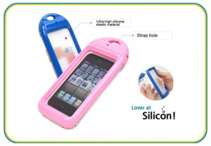 High Quality Blue & Pink Phone Water-Proof Case for iPhone 5