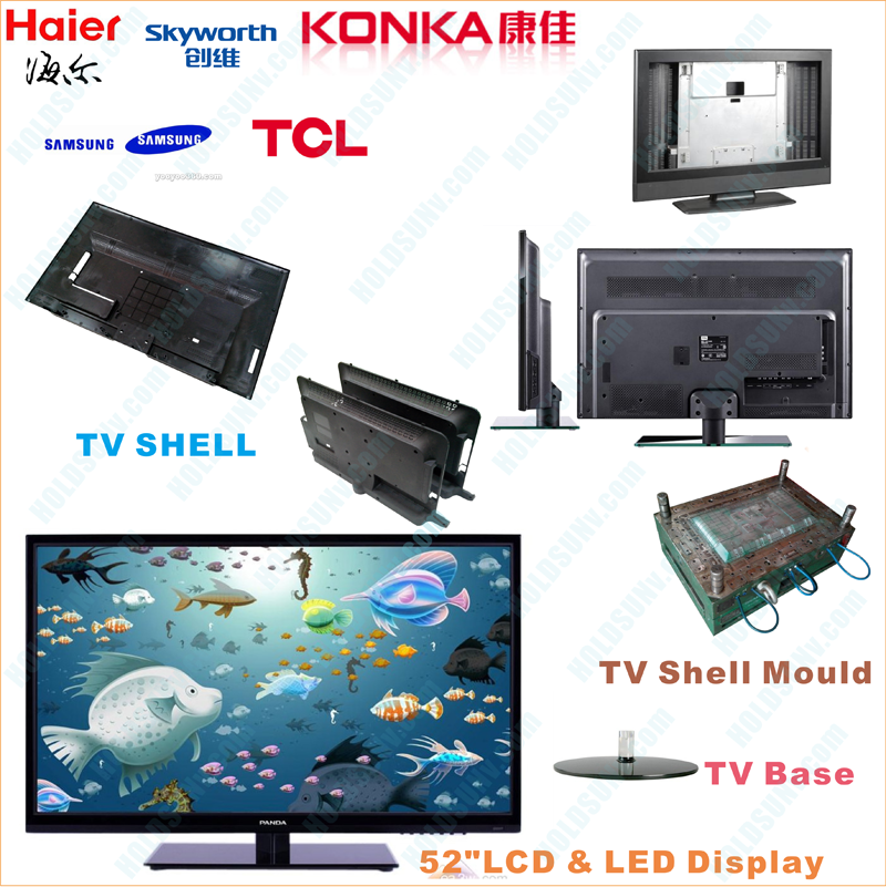 LCD & LED TV Display Injection Parts Combination Chart