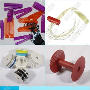 彩带分条器,Ribbon Spool and Splitter Plastic Parts