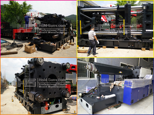 2 sets 1800 ton and 2000 ton Large-scale plastic injection molding machine for 55-58 inch TV Shell Moulding Parts