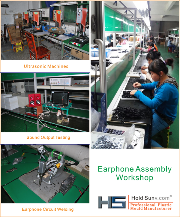 Headphone and In ear Assembly Workshop