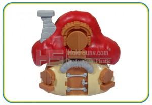 House plastic toys part1-(HS-23)