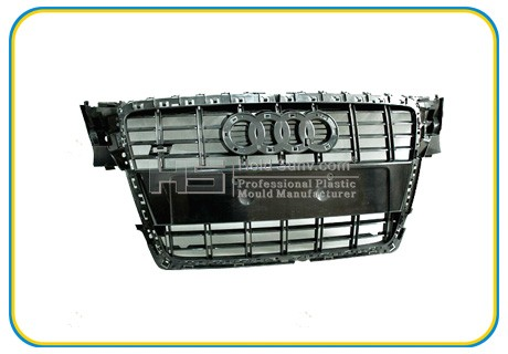 Audi Front Pumper Plastic Parts with Audi Logo