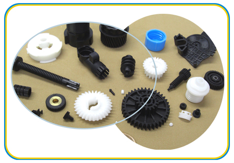 Pa66 And Pom Plastic Gear Parts And Plastic Gear Mould