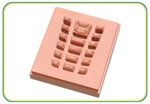 precision phone button molding copper electrode-(HS-149)