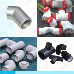 PVC, PP-R, PP and PE fitting moulds