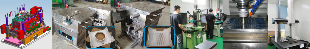 China Mold Maker Manufacturing Mould with Husky Injection Molding Systems