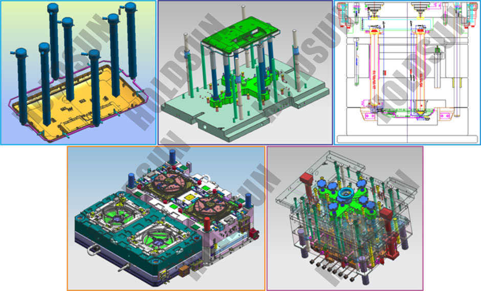 Large Scale Complex Mould Manufacturing Tool Building