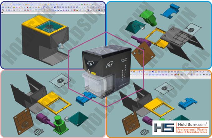 Household Oil Press Product Design