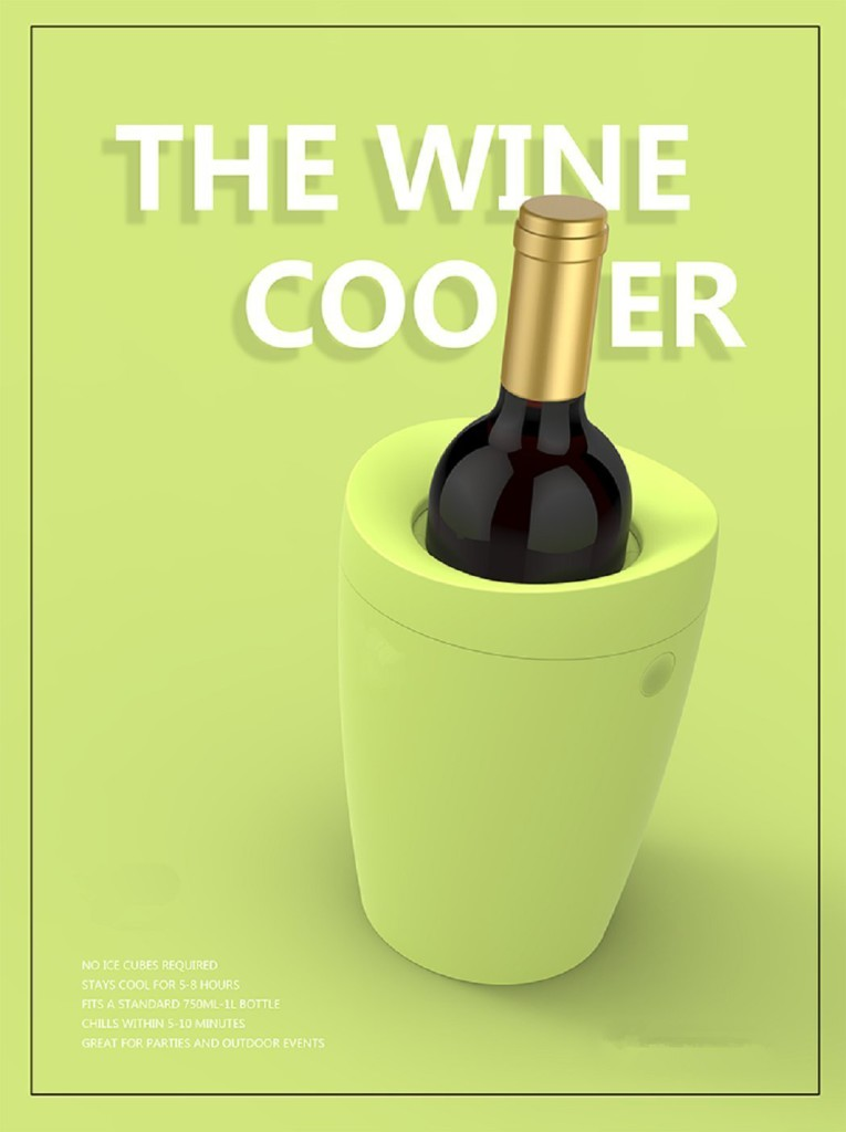Best Iceless Wine Coolers Wholesale Bottle Tabletop Double