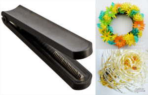 curling ribbon shredder and curler tools for gift wrapping